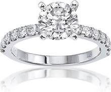 Load image into Gallery viewer, Signature Prong Set Diamond Engagement Ring