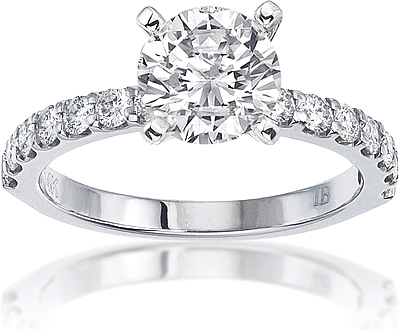 Signature Prong Set Diamond Engagement Ring