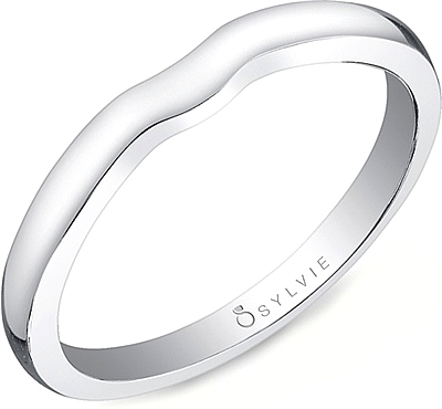 Sylvie Classic Fitted Wedding Band