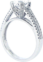 Load image into Gallery viewer, Sylvie Split Shank Diamond Engagement Ring