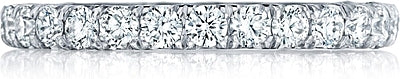 Tacori 2.5mm Pave Diamond Eternity Band