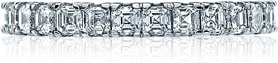 Tacori Asscher Cut Diamond Band