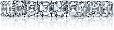 Tacori Asscher Cut Diamond Wedding Band