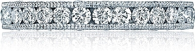 Tacori Channel-Set & Pave Diamond Band