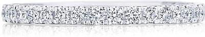 Tacori Coastal Crescent Diamond Wedding Band