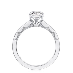 Tacori 14k Gold Solitaire Diamond Engagement Ring