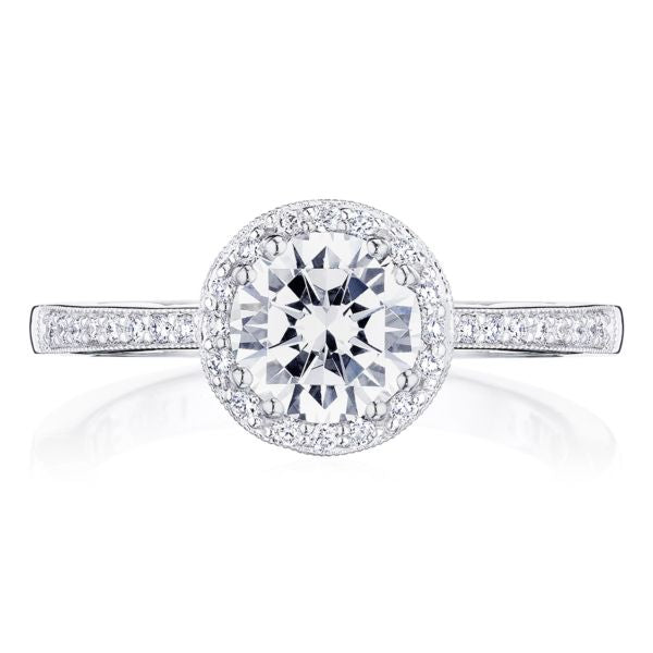 Tacori Coastal Crescent Diamond Engagement Ring