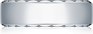 Tacori Hand Engraved Wedding Band -7.0mm