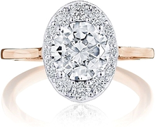 Load image into Gallery viewer, Tacori Inflori Diamond Engagement Ring