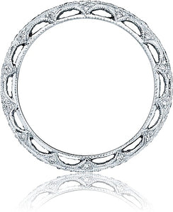 Tacori Pave Diamond Band - Reverse Crescent Silhouette Collection
