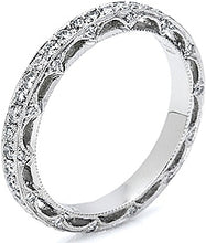 Load image into Gallery viewer, Tacori Pave Diamond Band - Reverse Crescent Silhouette Collection