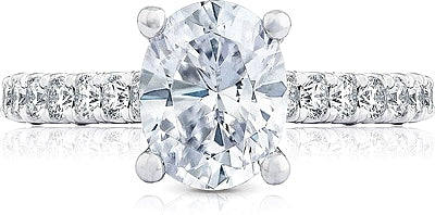 Tacori Pave Diamond Engagement Ring