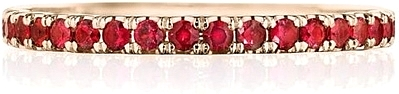 Tacori Pave Ruby Wedding Band