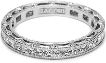 Tacori Princess Cut Channel-Set Diamond Band