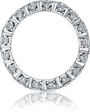 Tacori Round Brilliant Cut Diamond Wedding Band