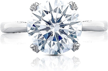 Load image into Gallery viewer, Tacori RoyalT Solitaire Setting with Diamond Accents