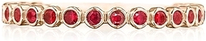 Tacori Ruby Wedding Band