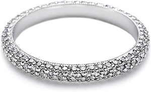 Tacori Straight Diamond Pave Band