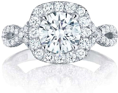 Tacori Twist Diamond Engagement Ring