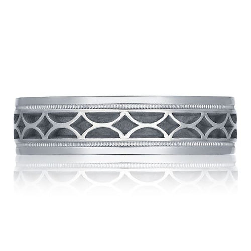 Gents 6mm Vented Wedding Band