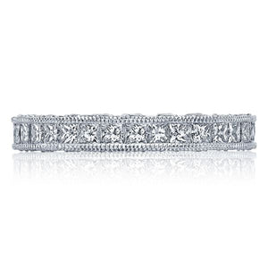 Tacori Channel-Set Princess Cut Diamond Band