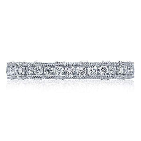 Tacori Channel-Set & Pave Round Diamond Band