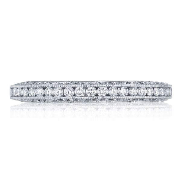 Tacori Channel-Set & Pave Diamond Wedding Band