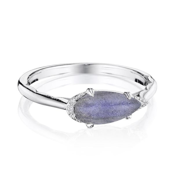 Tacori Sterling Silver Diamond & Labradorite Ring