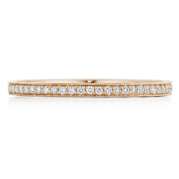 Tacori 14k Gold Diamond Wedding Band