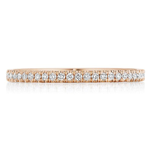 Tacori 14k Gold Pave Diamond Wedding Band