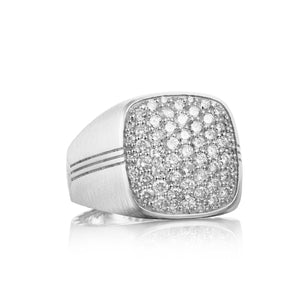 Legend Pav Diamond Ring