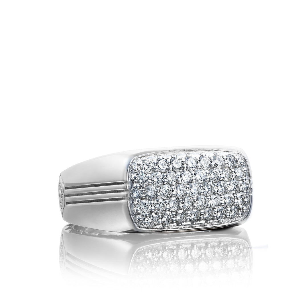 Legend Pav Diamond East-West Ring