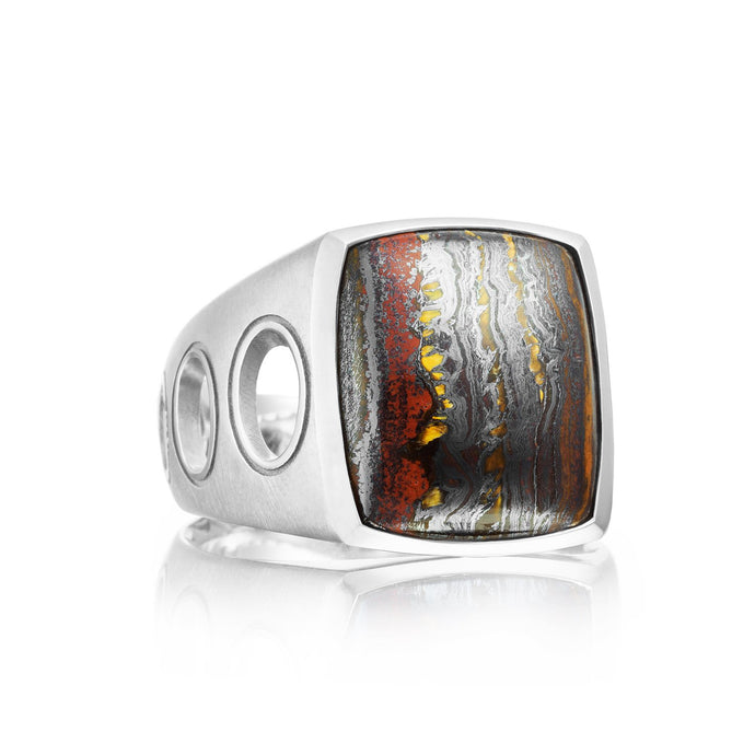 Monterey Roadster Vented Gemstone Ring