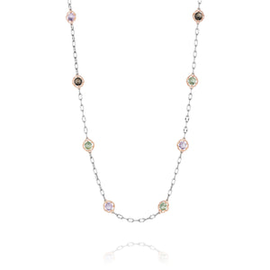 "Color Medley 18"" Candy Drop Necklace"