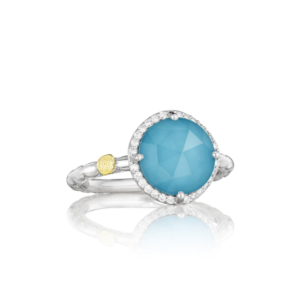 Island Rains Pav Simply Gem Ring