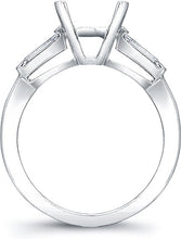 Load image into Gallery viewer, Tapered Baguette Diamond Engagement Ring- 1/3ct tw