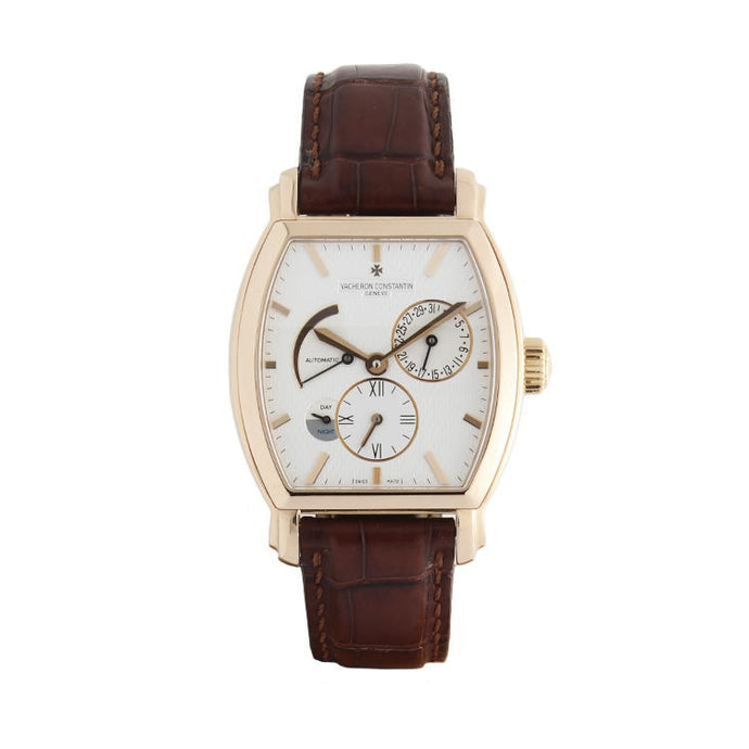 Pre-Owned Vacheron Constantin Malte Dual Time in 18K Rose Gold