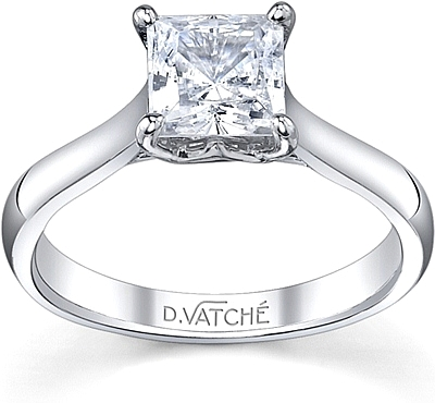Vatche Royal Crown Diamond Engagement Ring