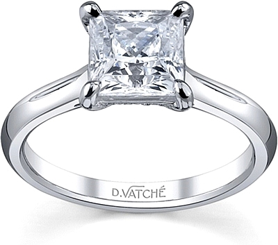 Vatche Solitaire Diamond Engagement Ring