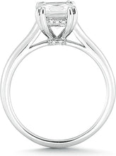 Load image into Gallery viewer, Vatche Solitaire Engagement Ring w Pave Basket