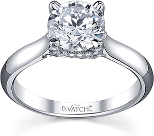 Vatche X-Prong Diamond Engagement Ring