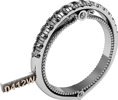 Verragio Pave Diamond Wedding Band