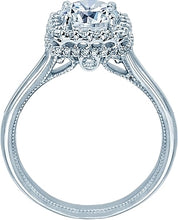 Load image into Gallery viewer, Verragio Pave Halo Diamond Engagement Ring