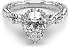Load image into Gallery viewer, Verragio Pave Twist Diamond Engagement Ring
