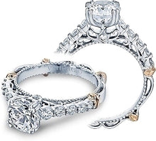 Load image into Gallery viewer, Verragio Prong-Set Diamond Engagement Ring