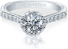 Verragio Prong Set Diamond Engagement Ring