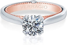 Load image into Gallery viewer, Verragio Solitaire Diamond Engagement Ring