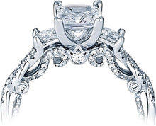 Load image into Gallery viewer, Verragio Three Stone Twist Diamond Engagement Ring
