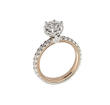 Verragio Two-Tone Pave Set Diamond Engagement Ring
