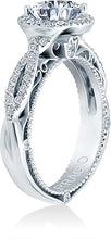 Load image into Gallery viewer, Verragio Venetian Collection Pave Diamond Engagement Ring With Halo